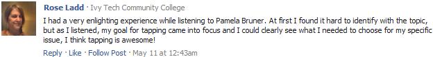Tapping World Summit 2012 review Pamela Bruner